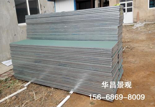 塑钢结合挡雪板
