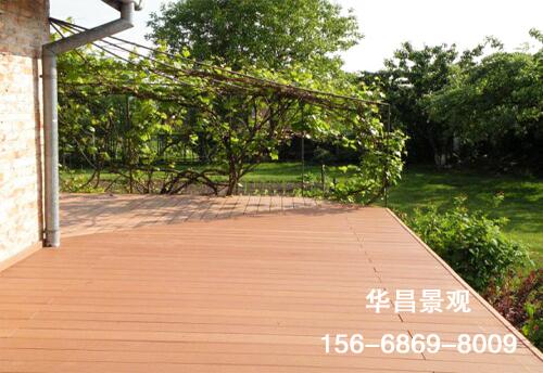 户外塑木地板