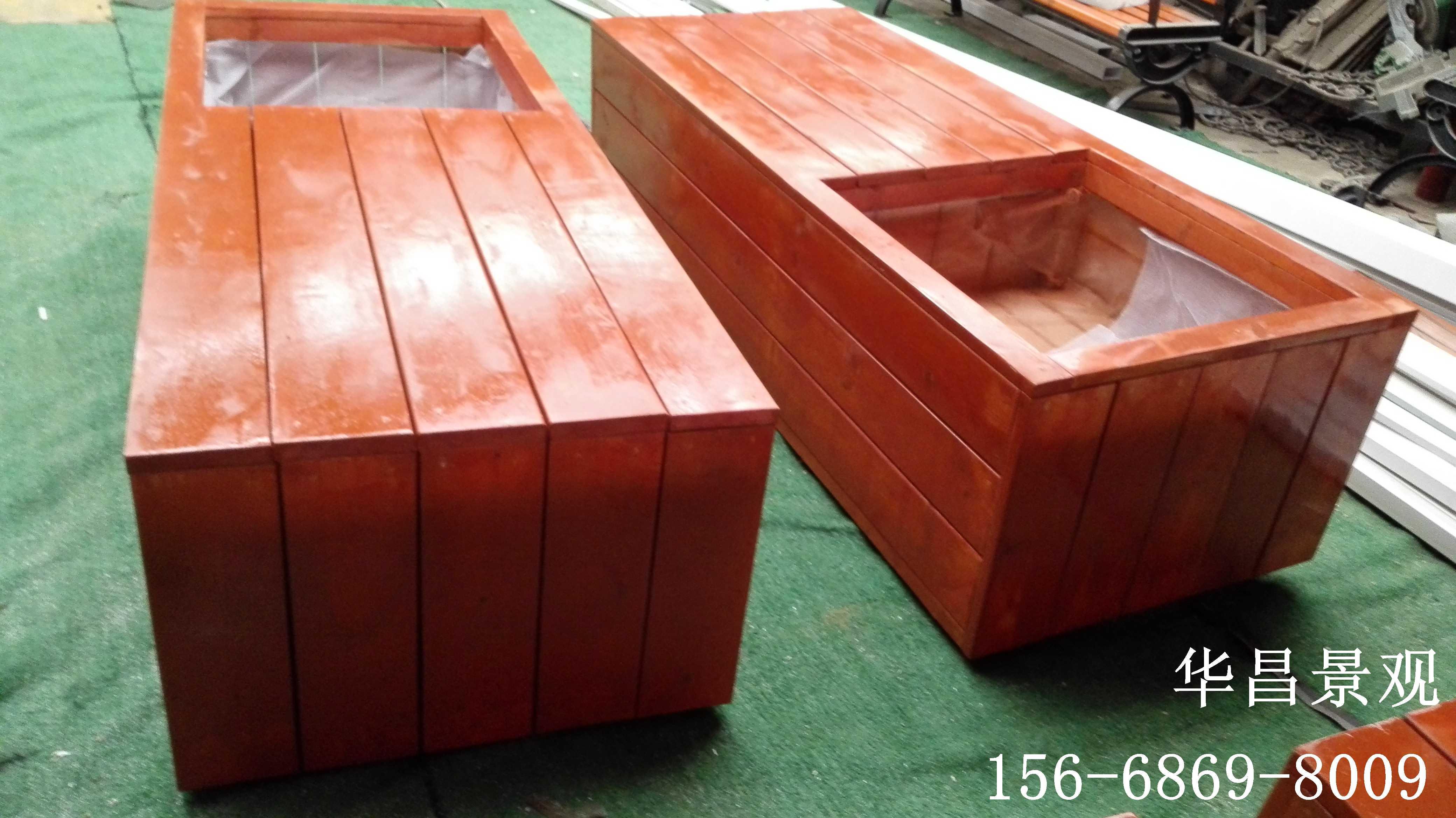 防腐木花箱加工