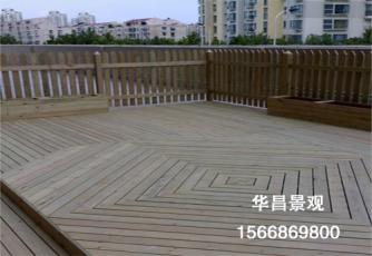 安装防腐木地板