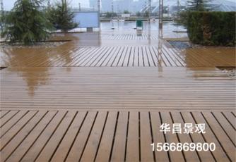 大连防腐木地板施工