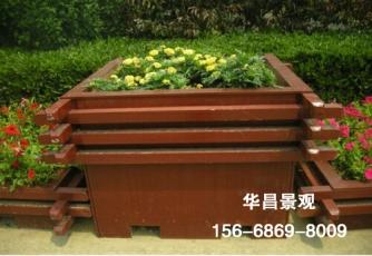 大连塑木花箱