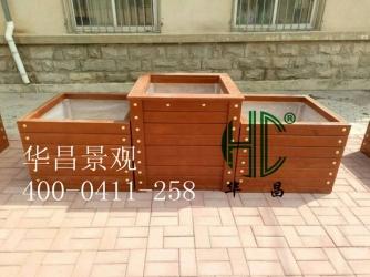 大连防腐木组合花箱